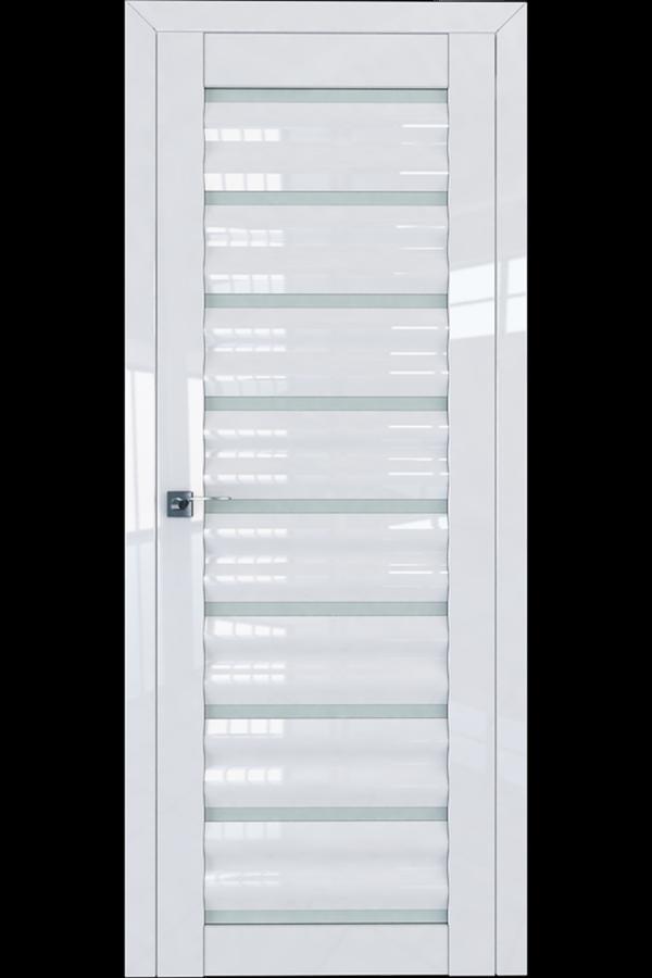 Profil Doors Дверь межкомнатная Профиль-Дорс серия 76 L Белый Люкс