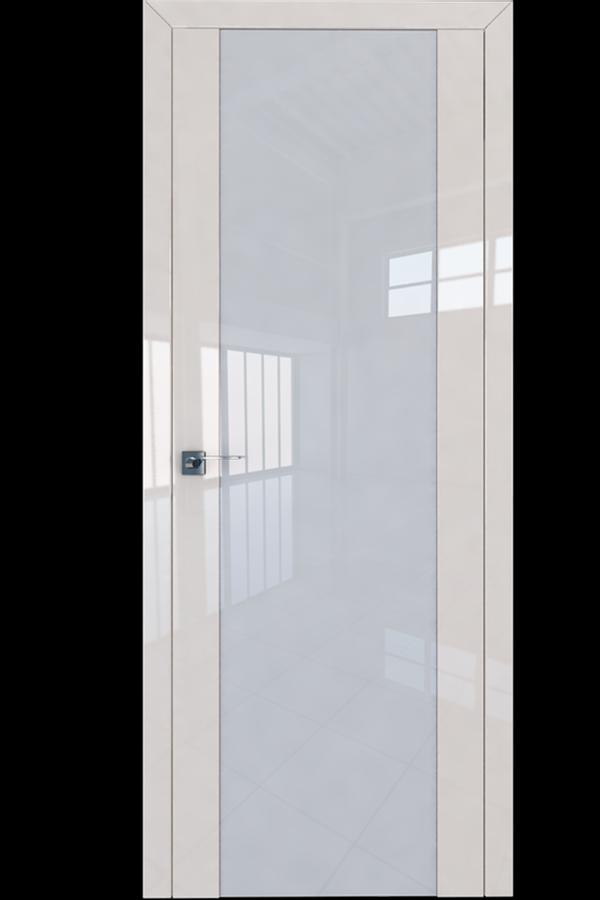 Profil Doors Дверь межкомнатная Профиль-Дорс серия 8 L Магнолия Люкс Белый Триплекс
