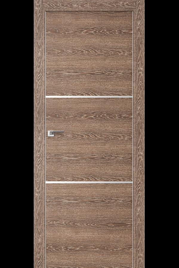 Profil Doors Дверь межкомнатная Профиль-Дорс серия 2 Z Дуб Транкайс Светлый