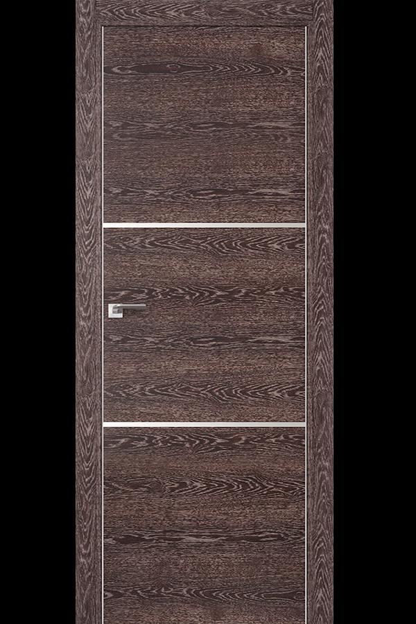 Profil Doors Дверь межкомнатная Профиль-Дорс серия 2 Z Дуб Транкайс Темный