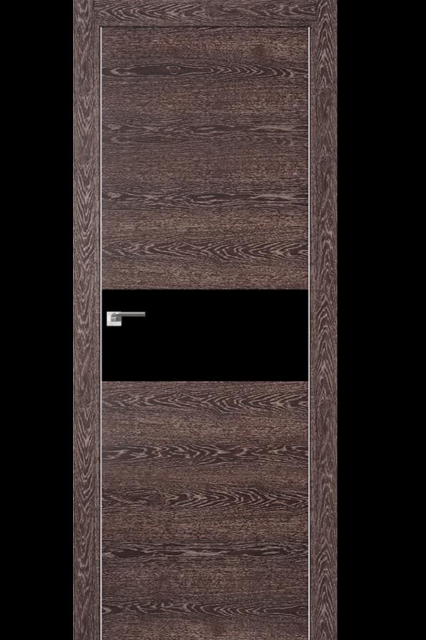 Profil Doors Дверь межкомнатная Профиль-Дорс серия 4 Z Дуб Транкайс Темный