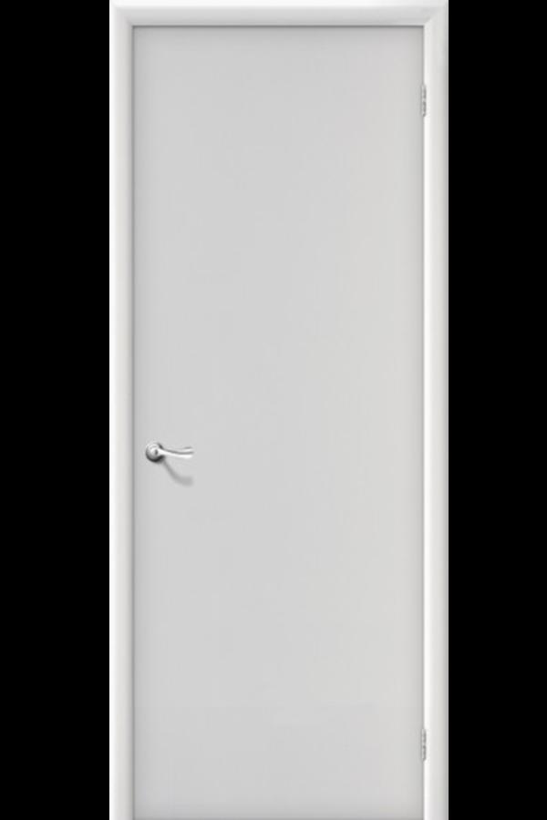 Межкомнатные двери , Ламинированные Гладкая Белая