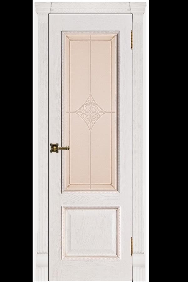Ульяновские Двери Натуральный шпон Гранд Бьянка Ромб
