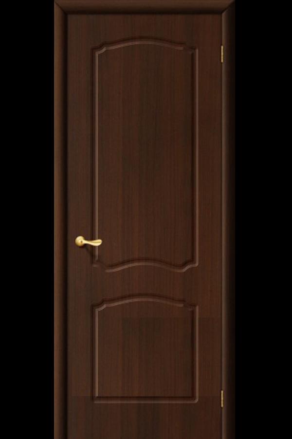 Межкомнатные двери ПВХ , Ламинированные Классика Глухая Венге