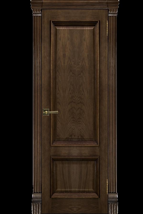 Ульяновские Двери Натуральный шпон Корсика Бренди