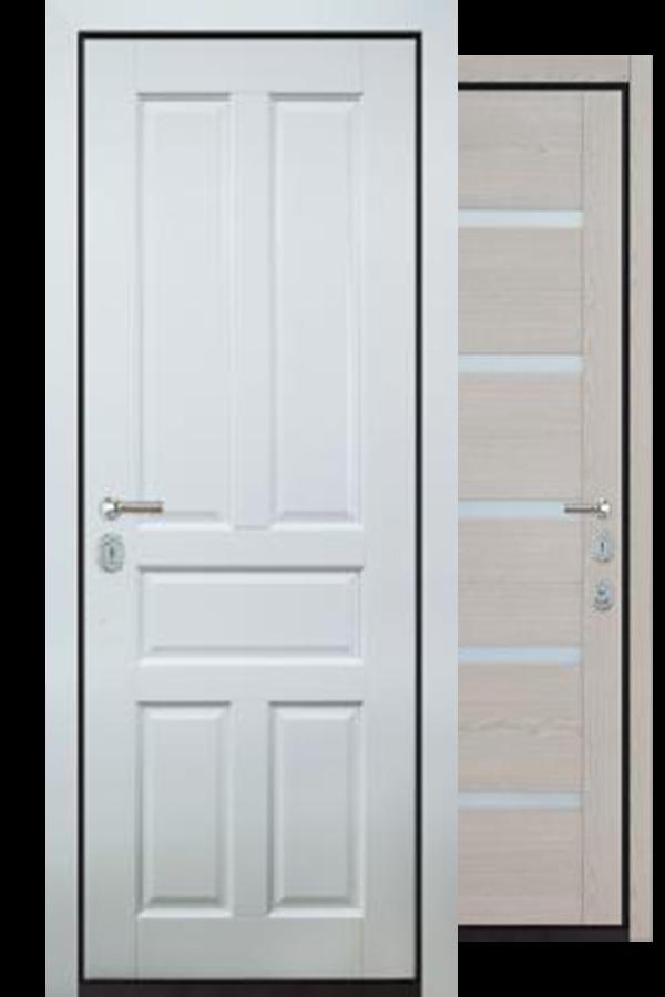 Сборная Сборная Входные двери, Аконит Комфорт, Две Панели