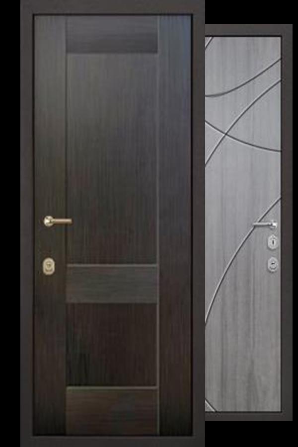 Сборная Внешняя Входные двери, Аконит Комфорт, Две Панели