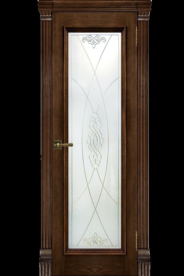 Ульяновские Двери Натуральный шпон Тоскана Бренди Мираж