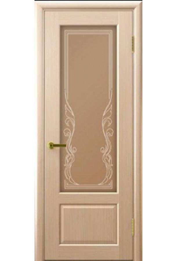 Ульяновские Двери Натуральный шпон Валенсия Беленый Дуб Ривьера