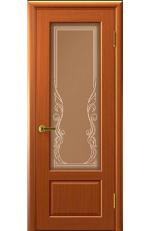 Ульяновские Двери Натуральный шпон Валенсия Темный Анегри Ривьера