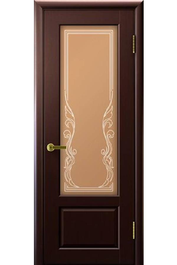 Ульяновские Двери Натуральный шпон Валенсия Венге Ривьера