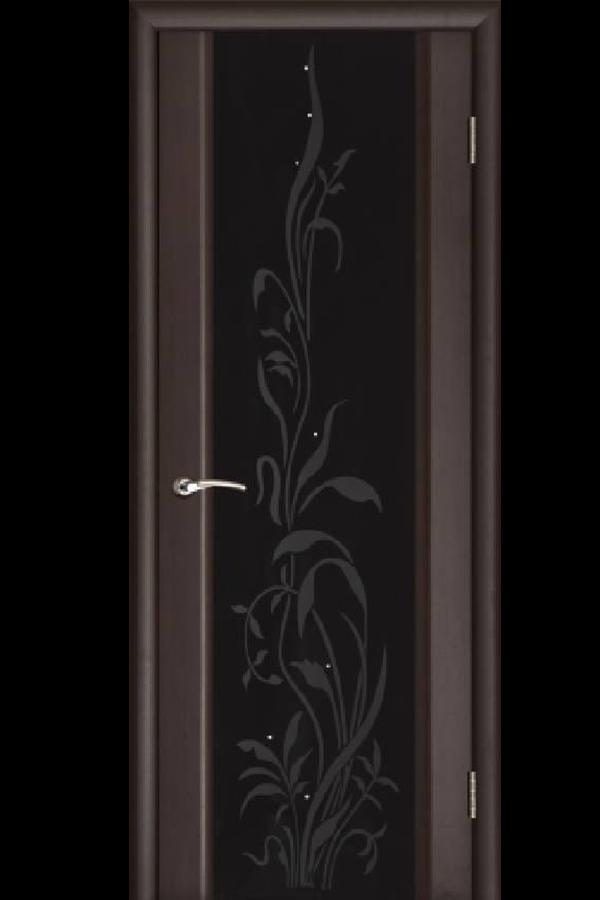 Ульяновские Двери Натуральный шпон Эксклюзив 2 Венге