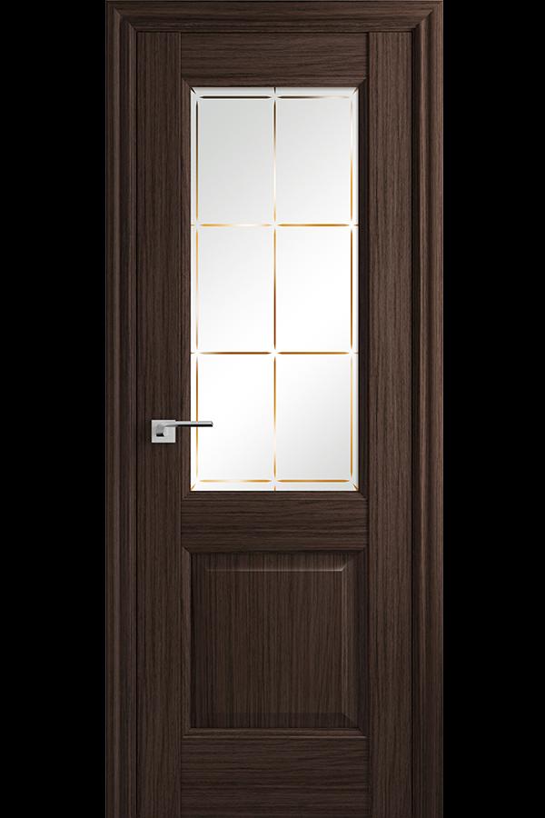 Profil Doors Дверь межкомнатная Профиль-Дорс серия Классика 90х, цвет Натвуд