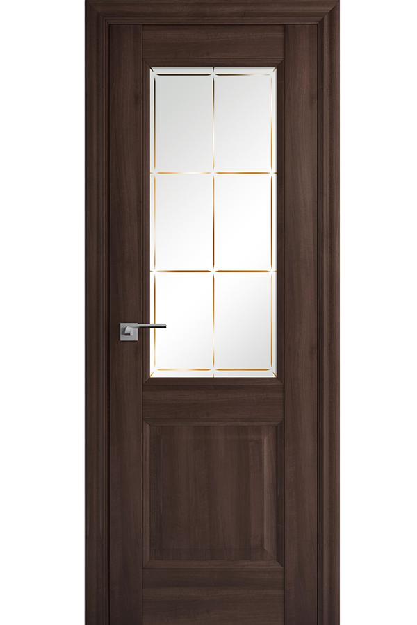 Profil Doors Дверь межкомнатная Профиль-Дорс серия Классика 90х, цвет орех Сиена
