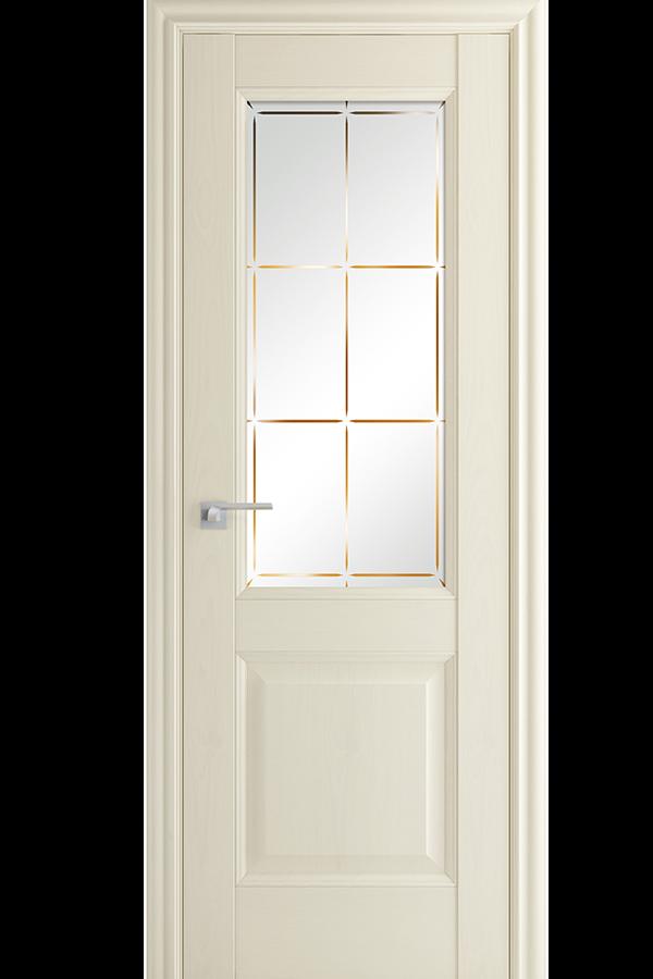 Profil Doors Дверь межкомнатная Профиль-Дорс серия Классика 90х, цвет эш-вайт