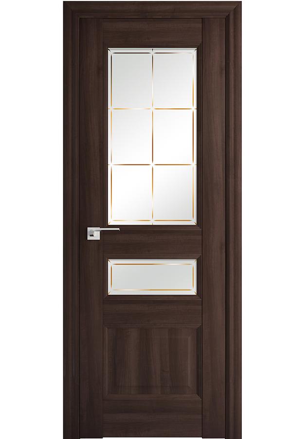 Profil Doors Дверь межкомнатная Профиль-Дорс серия Классика 94х, цвет орех Сиена
