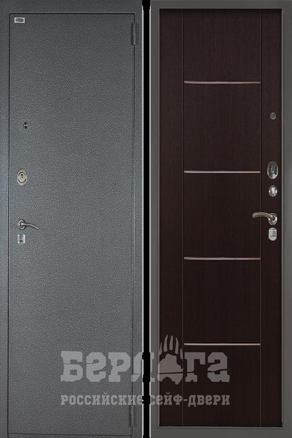 Сейф-дверь Берлога 3К РУСТ Венге тисненый 19400